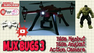 Unboxing MJX Bugs 3 + Flying Test Footage