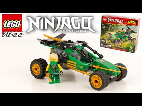 Vidéo LEGO Ninjago 71700 : Le buggy de la jungle
