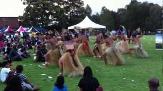 Duavata Fiji Dance Group Sydney FIJI DAY 2013 - Fijian Meke Performance