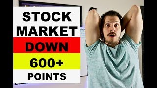 Stock Market Down 600+ Points! Stocks To Watch Or Buy Now!