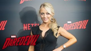 Amy Rutberg on Marci Stohl – Marvel's Daredevil Season 2 Red Carpet