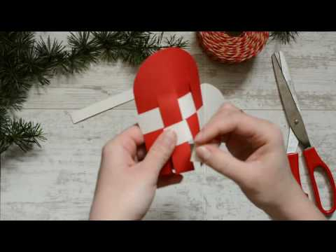 ♥ JULEHJERTER diy {danish heart} - christmas tree ornaments -