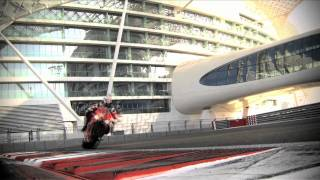 2012 Ducati 1199 Panigale at the Yas Marina Circuit in Abu Dhabi