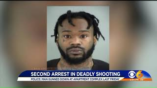 Second man arrested in fatal shooting at Henrico apartment