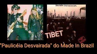 """Tibet (cantora) comenta o disco favorito: """"Paulicéia Desvairada"""" do Made In Brazil"""