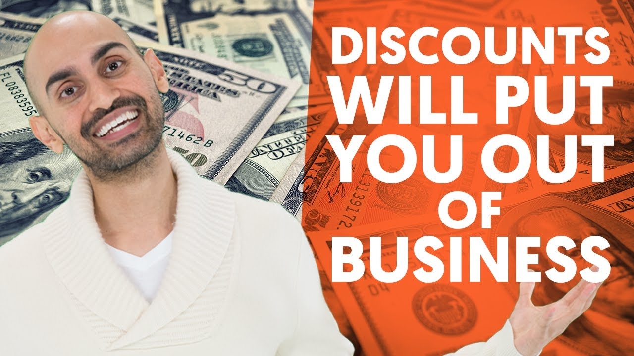 Why Offering Discounts Will Put You Out of Business