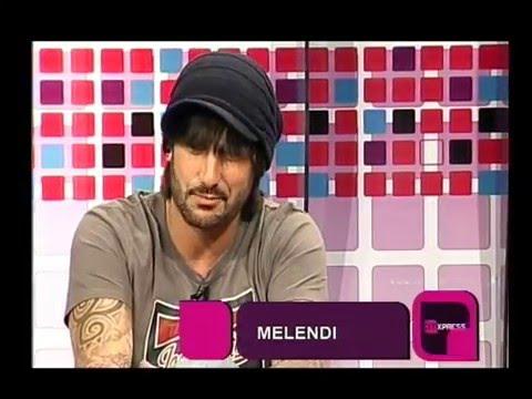Melendi video Entrevista CM - Visita a la Argentina - Octubre 2011