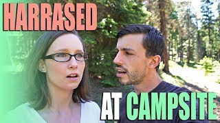 Harassed At A Free Campsite - Strange Experience Full Time RVing