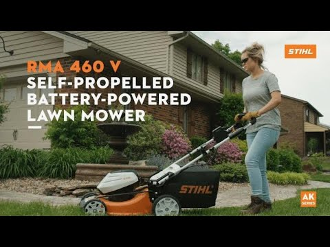 Stihl RMA 460 V 19 in. Self-Propelled w/ AK30 Battery & AL101 Charger in Philipsburg, Montana - Video 1
