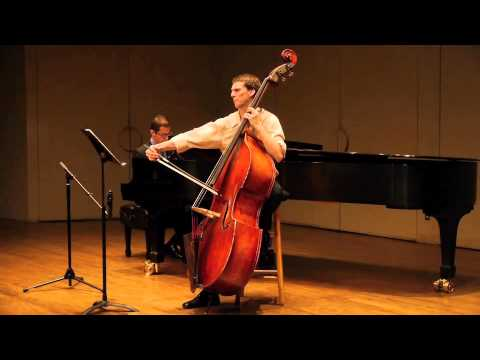 Sonata for Double Bass and Piano, Mvt. III by Paul Hindemith