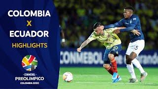 Colombia 4-0 Ecuador | Preolímpico 2020