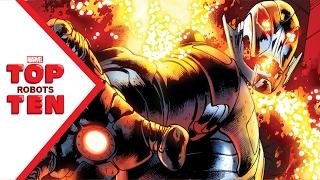 Marvel Top 10 Robots