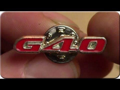 Polo G40 Emblem Pin Anstecknadel