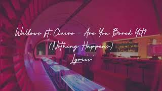 are you bored yet lyrics
