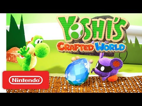 Yoshi's Crafted World - Demo Trailer - Nintendo Switch thumbnail