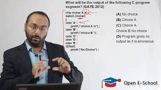 GATE CSE 2018 - Video Tutorials (Programming In C - Previous Year Questions) - 3 (Open E-School)