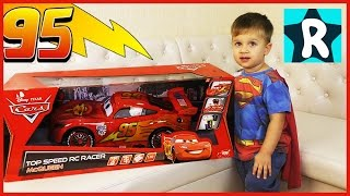 ★ Тачки Дисней МОЛНИЯ МАКВИН Распаковка Машины OPENING Disney Pixar Cars Toys Lightning McQueen
