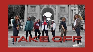[AZIZA] C POP IN PUBLIC | WAYV (威神V)   TAKE OFF (无翼而飞) Dance Cover
