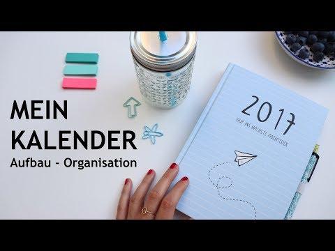 MEIN KALENDER | Aufbau und Organisation