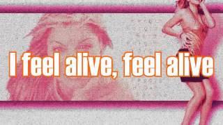 Feel Alive(FULL SONG) by Fergie Ft. Pitbull [ONSCREEN LYRICS]