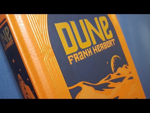 Dune by Frank Herbert - Barnes and Noble Leatherbound Review