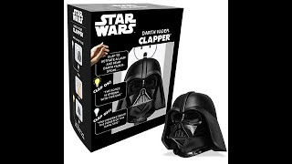 2019 The Clapper TV Commercial - Star Wars Darth Vader Clapper