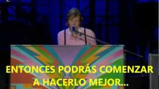 Paul McCartney  Hey Jude (Subtitulada Español) (Zócalo México: 2012)