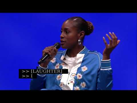 , title : 'A CONVERSATION WITH ISSA RAE'