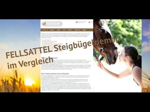 Fellsattel - Steigbügelriemen für Fellsättel im Test auf fellsattel.org