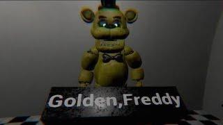 FNaF Free Roam UE4 - Золотой Фредди