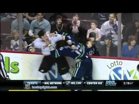 Tanner Glass vs. Andy Sutton