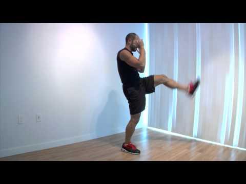 Squat to Front Kick