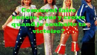 ABBA - Waterloo (French Version) Sing-along
