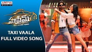 Taxi Vaala Song Lyrics- Supreme