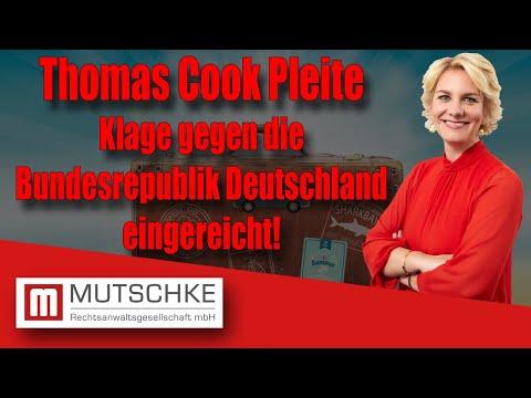 Thomas Cook Insolvenz: Heute Klage gegen die Bundesrepublik Deutschland verschickt