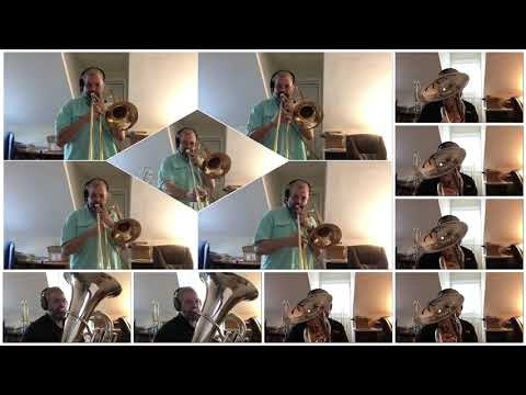 "Multitrack low brass video of my own arrangement of ""Rolling Thunder"" by Henry Fillmore, Recorded in March 2020."