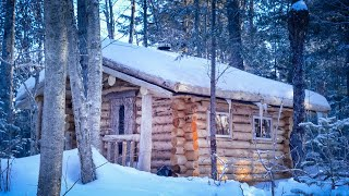 Call of the Wild   Fire, Snow, Remote Wilderness Cabin