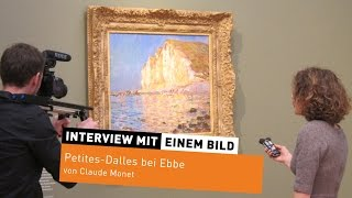 """Petites-Dalles bei Ebbe"" von Claude Monet"