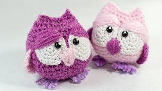 Crochet Tutorial Amigurumi Owl
