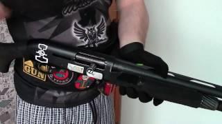 Ружье IPSC, основы стрельбы: зарядка и 3-е положение