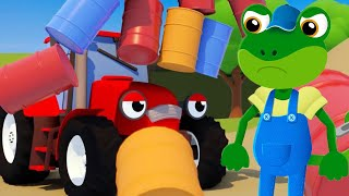 New Jobs For Big Trucks!・Geckos Garage・Truck Cartoons For Kids・Learning For Toddlers