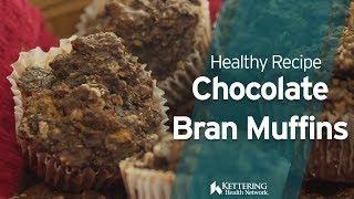 Cherry Pecan Chocolate Bran Muffins Recipe