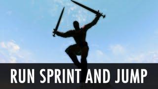 Skyrim Mod: Run Sprint and Jump