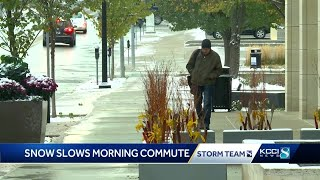 Early Iowa snowfall in line with 2020 oddities