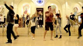 Anna And Adam Surprise Flash Mob Proposal In Las Vegas