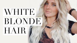 WHITE BLONDE HAIR    Lexi Dawn