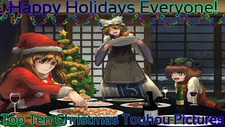 Top Ten Christmas Touhou Pictures (Happy Holidays Everyone!)