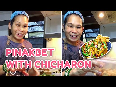 PINAKBET WITH CHICHARON! (QUICK AND EASY RECIPE)   PokLee Cooking