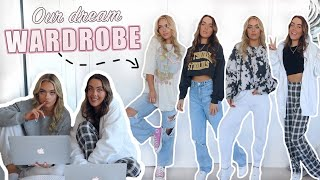 BUYING OUR DREAM WARDROBE! (massive Haul & Try On/ Vintage Style) Mescia Twins