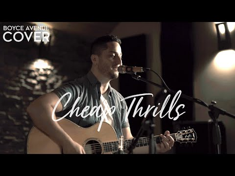 "Boyce Avenue performing ""Cheap Thrills by Sia feat. Sean Paul"